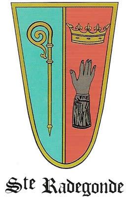 Blason de Sainte-Radegonde