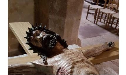 Christ en croix d'Inières