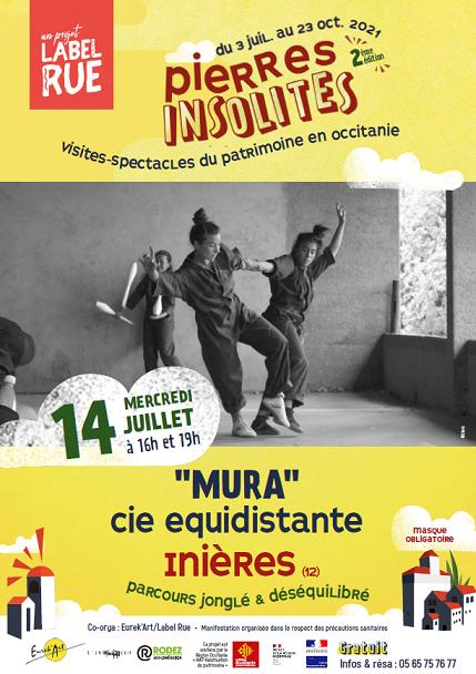 Spectacle MURA à Inières
