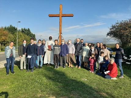 Bénédiction de la croix de la garde